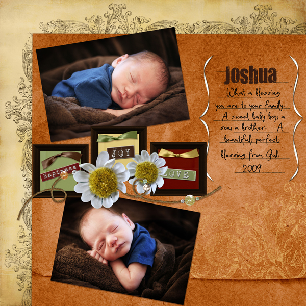 Layout by Melissa Renfro uses Assemble Your Own Zoom Pages: Inspired