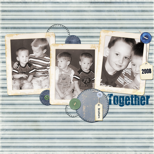 Layout by Melissa Renfro uses Assemble Your Own Zoom Pages: Well Loved