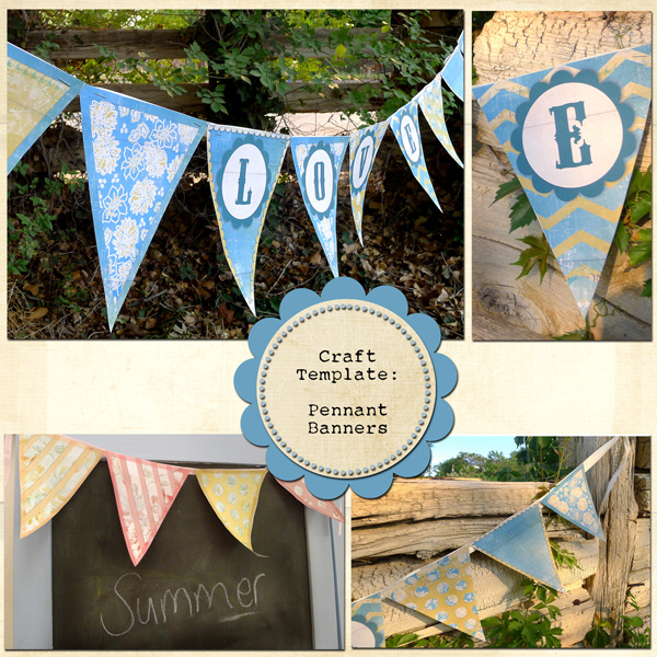Sample Pennants by Melissa Renfro ingredients linked below