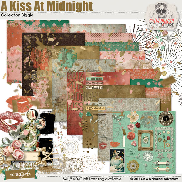 A Kiss At Midnight Collection Biggie by On A Whimsical Adventure