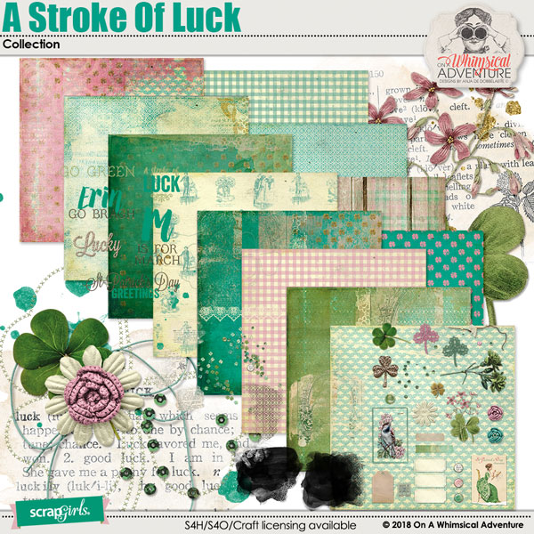 A Stroke Of Luck Collection by On A Whimsical Adventure