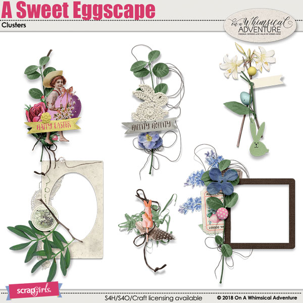 A Sweet Eggscape Clusters by On A Whimsical Adventure