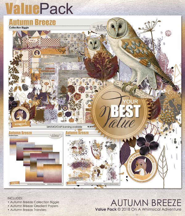 Autumn Breeze Value Pack by On A Whimsical Adventure