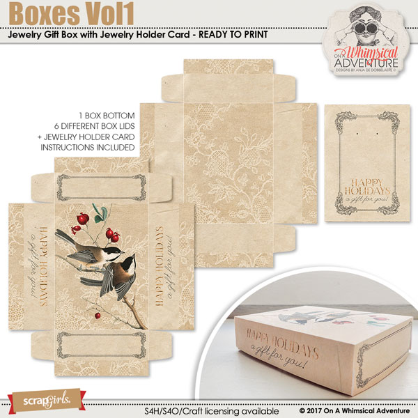 Boxes Vol1 by On A Whimsical Adventure