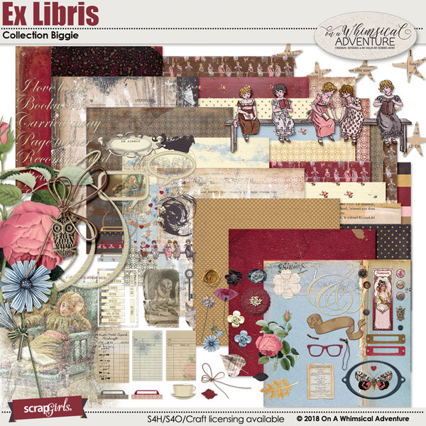 Ex Libris Collection Biggie by On A Whimsical Adventure