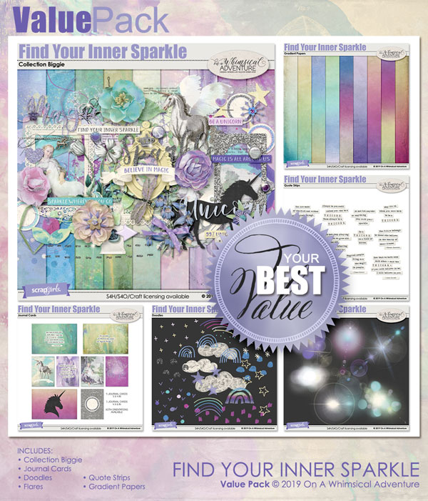 Value Pack Find Your Inner Sparkle by On A Whimsical Adventure
