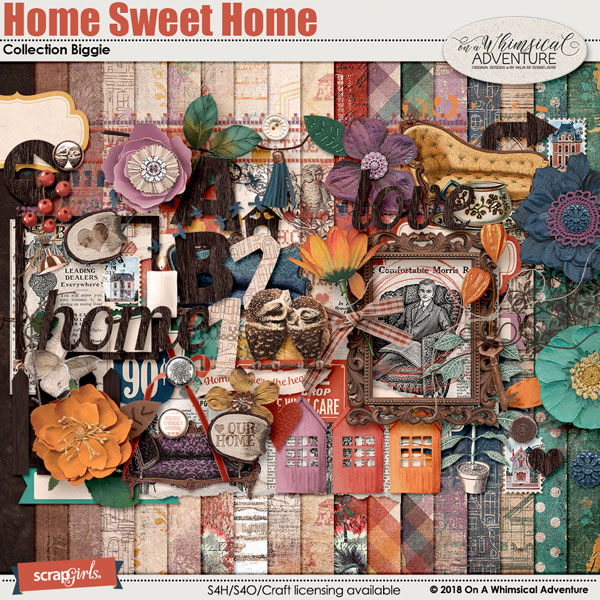Home Sweet Home Collection Biggie by On A Whimsical Adventure