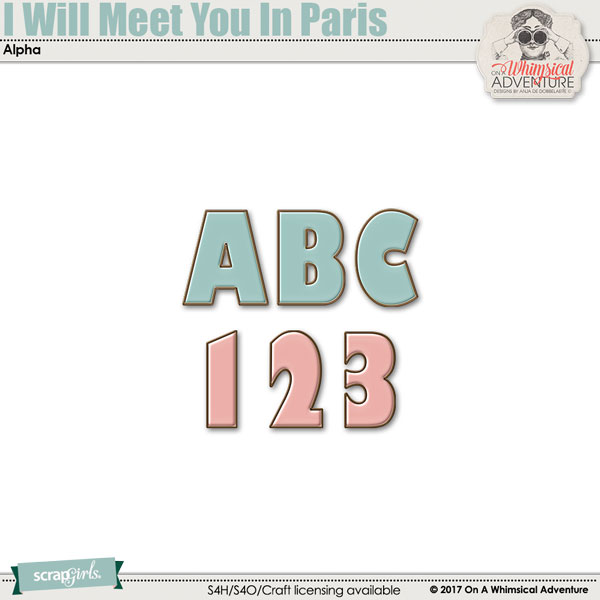 I Will Meet You In Paris Alpha by On A Whimsical Adventure