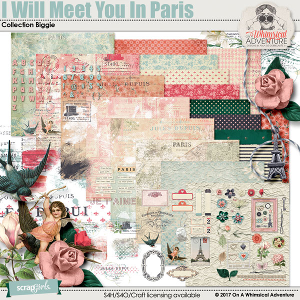 I Will Meet You In Paris Collection Biggie by On A Whimsical Adventure