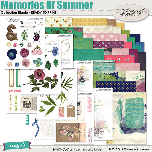 Memories Of Summer Printable Collection Biggie