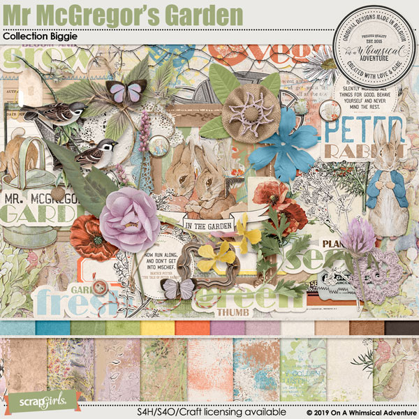 Mr McGregor's Garden Collection Biggie by On A Whimsical Adventure