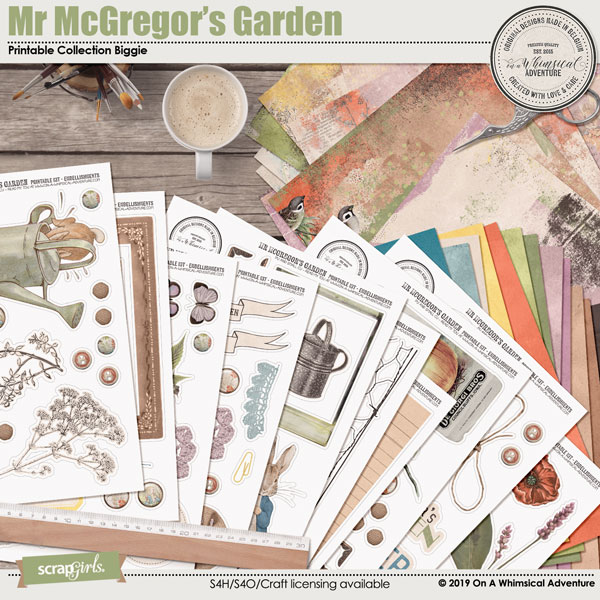 Mr McGregor's Garden Printable Collection Biggie by On A Whimsical Adventure