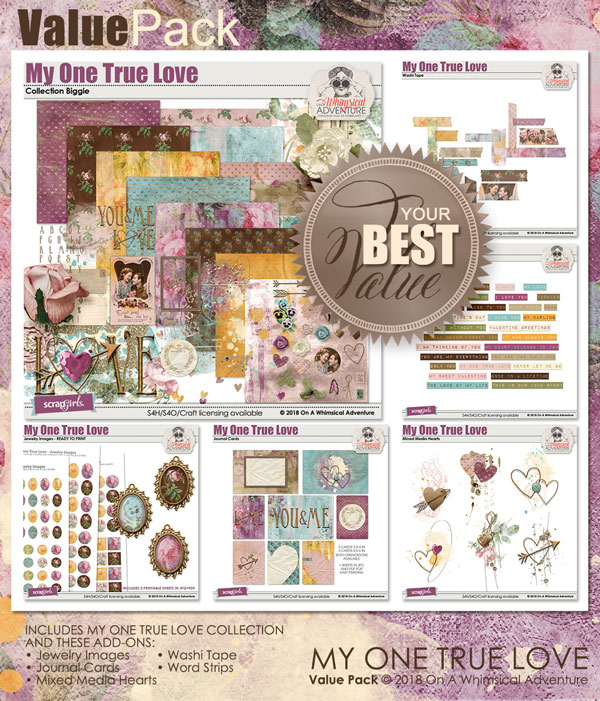 Value Pack: My One True Love by On A Whimsical Adventure