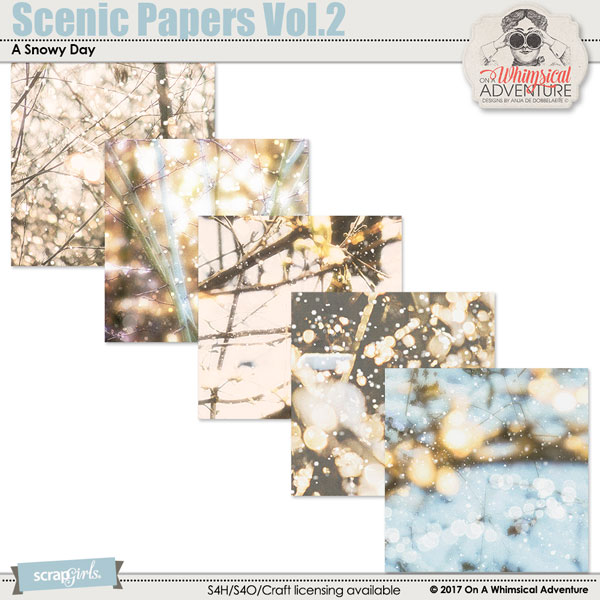 Scenic Papers Vol2 by On A Whimsical Adventure