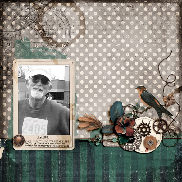 Digital layout created using Somewhere In Time by On A Whimsical Adventure