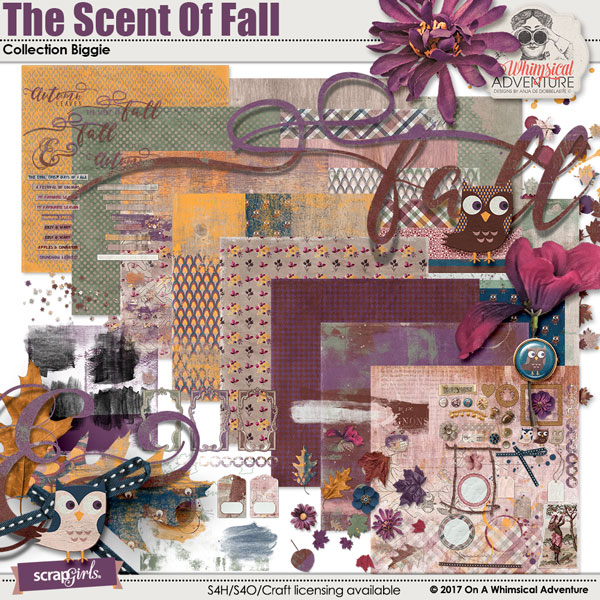 The Scent Of Fall Collection Biggie by On A Whimsical Adventure