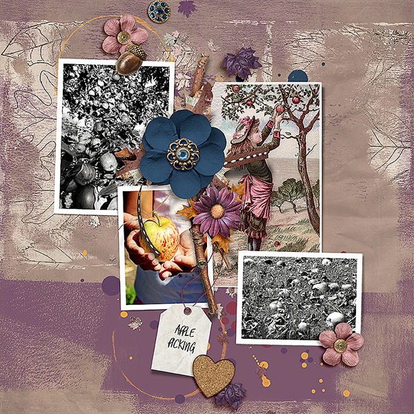 Creative team layout using Value Pack: The Scent Of Fall by On A Whimsical Adventure