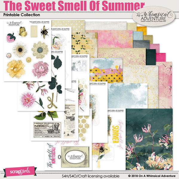 photograph relating to Have a Sweet Summer Printable identify The Adorable Scent Of Summertime Printable Selection