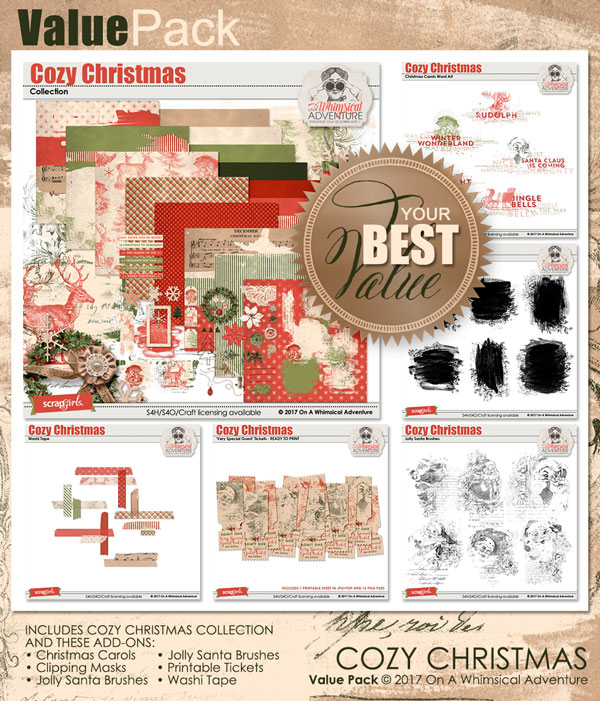 Value Pack: Cozy Christmas by On A Whimsical Adventure