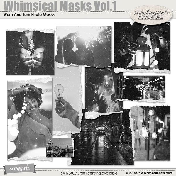Whimsical Masks Vol1 by On A Whimsical Adventure