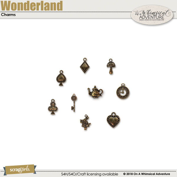 Wonderland Charms by On A Whimsical Adventure