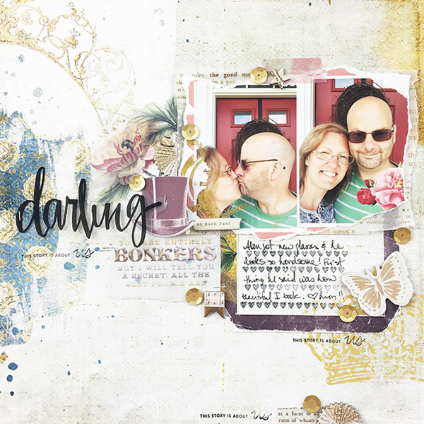 Hybrid layout using Value Pack Wonderland by On A Whimsical Adventure