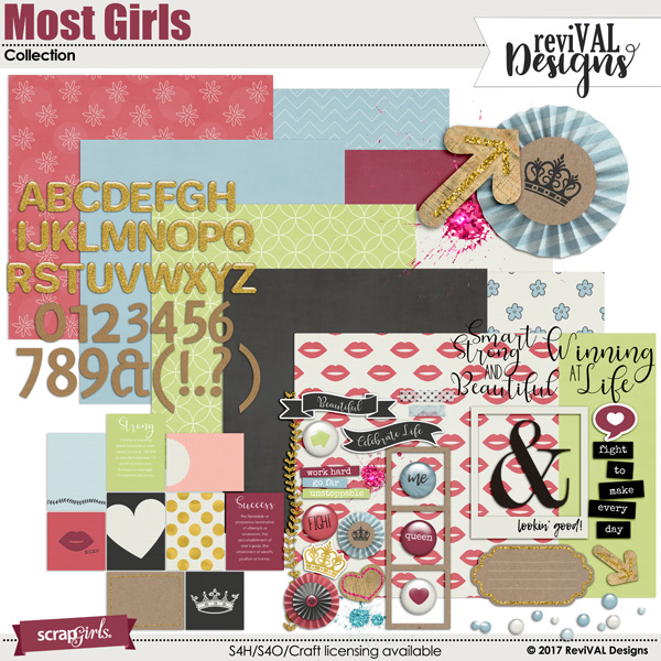 Most Girls Collection by ReviVAL Designs