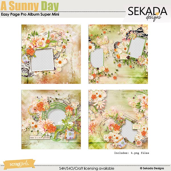 Easy Page Pro Album: A Sunny Day