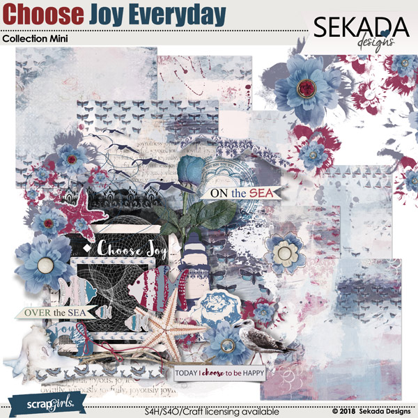 Choose Joy Every Day Collection Mini