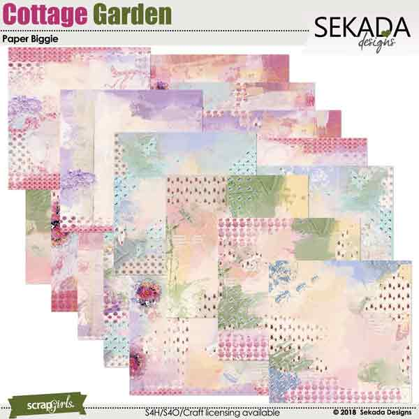 Cottage Garden Papers Biggie
