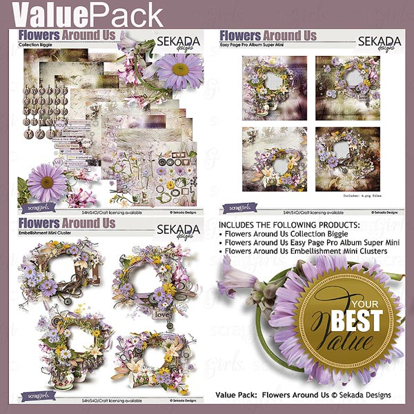 Value Pack: Flowers Around Us