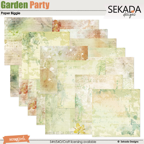 Garden Party Paper Biggie