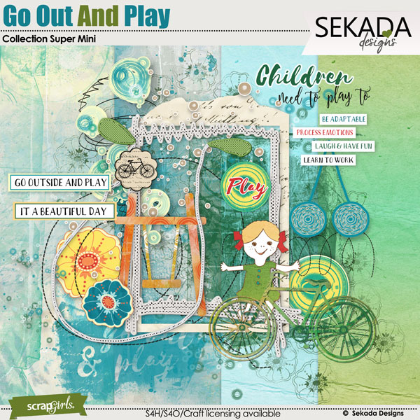Go Out And Play Collection Super Mini
