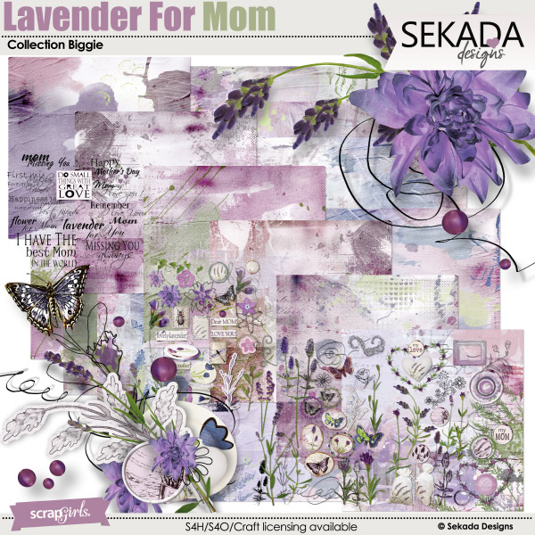 Lavender For Mom Collection Biggie