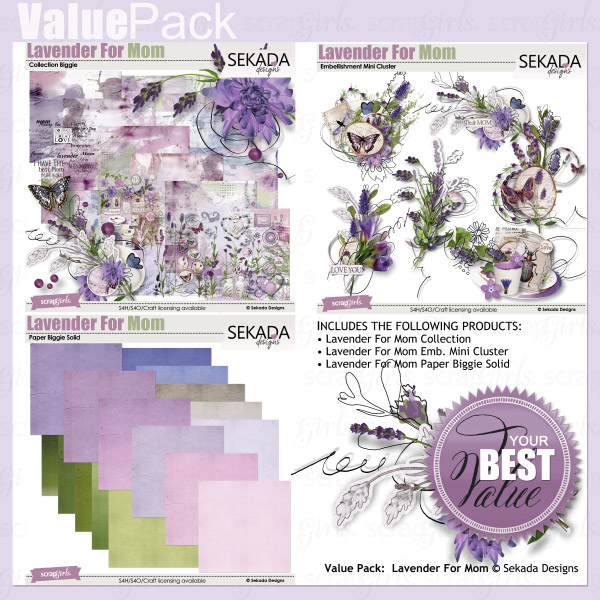 Value Pack: Lavender For Mom