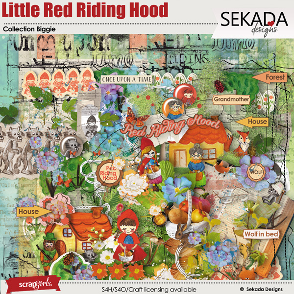 Little Red Riding Hood Collection Biggie