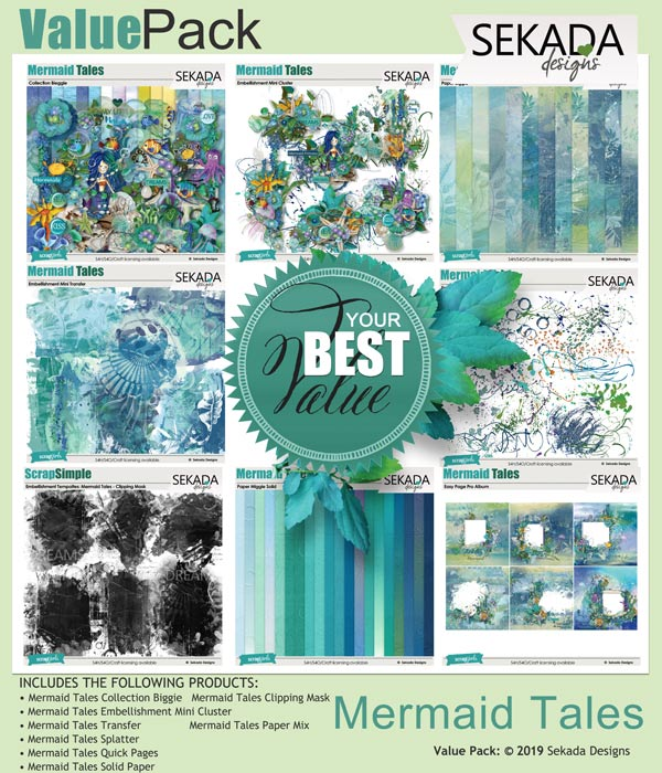 Value Pack: Mermaid Tales by sekada