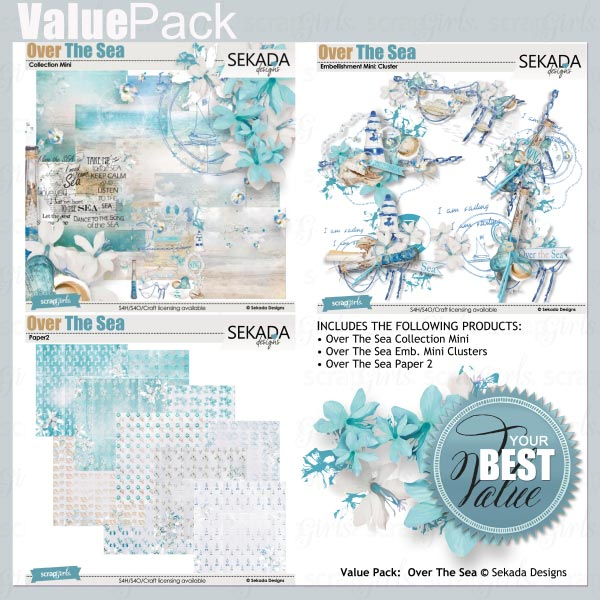 Value Pack: Over The Sea