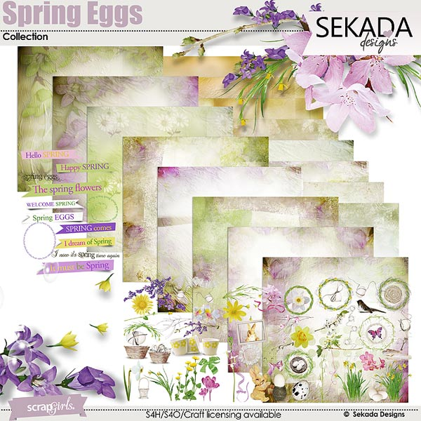 Spring Eggs Collection