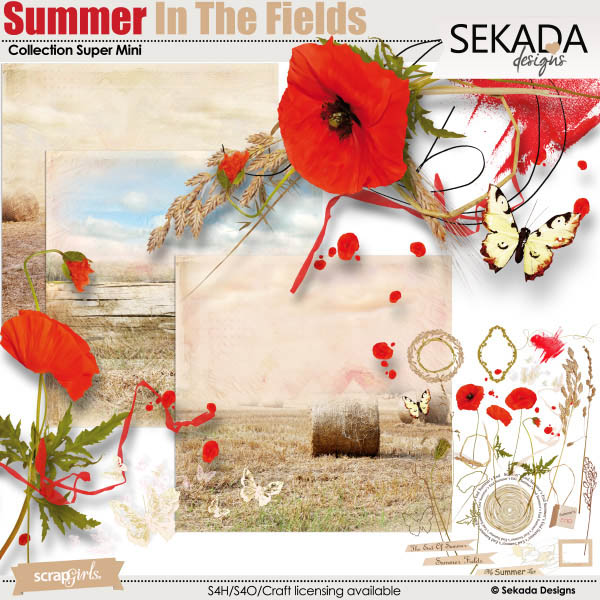 Summer In The Fields Collection Super Mini