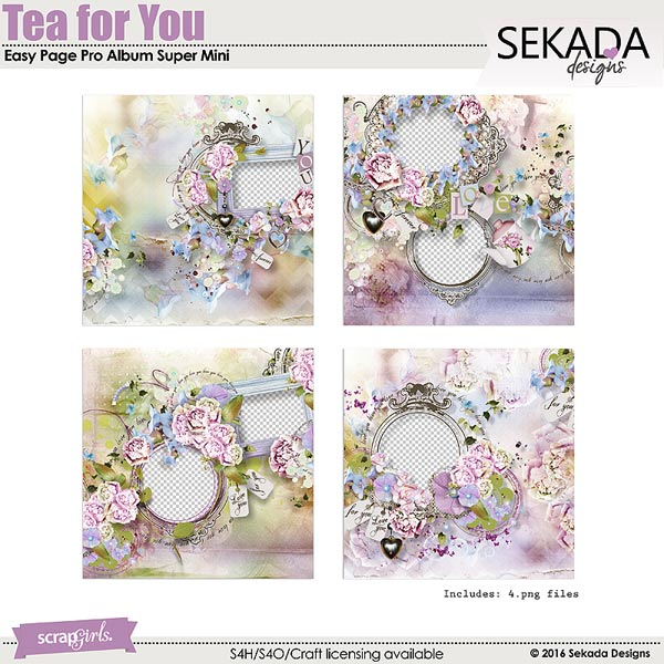 Tea For You Easy Page Pro Album