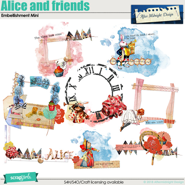 Alice and friends Element Mini Clusters