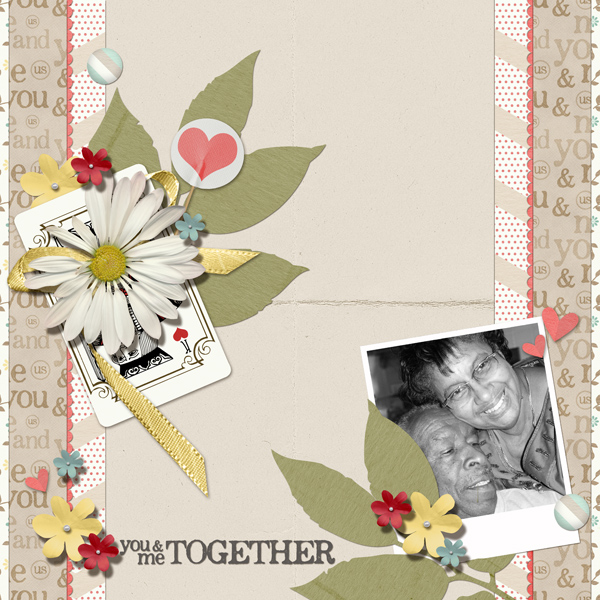 Layout by Angie Briggs (product supply list and links below)
