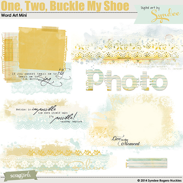 """<a href=""""http://store.scrapgirls.com/p31164.php"""">One, Two, Buckle My Shoe Word Art Mini</a>"""