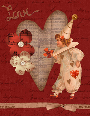 Card by Syndee Nuckles using Assemble Your Own: Greeting Cards - Love
