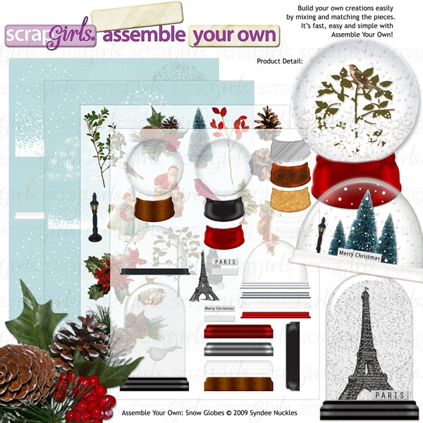 Also available: Assemble Your Own: Snow Globe