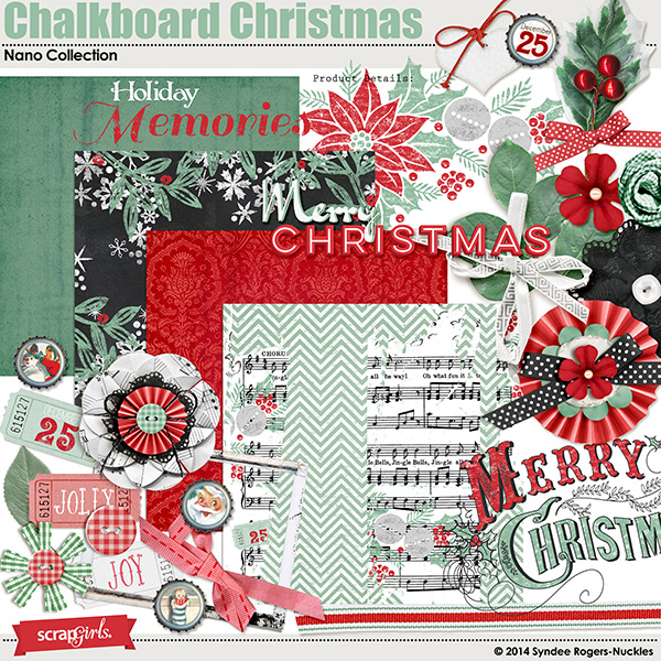 Chalkboard Christmas Nano Collection