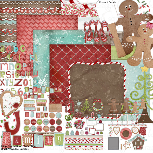 Gingerbread Kisses Collection