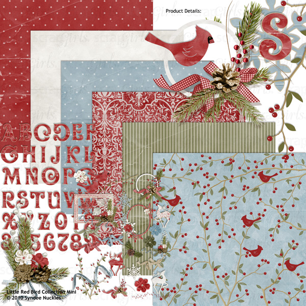 Also available: Little Red Bird Kit