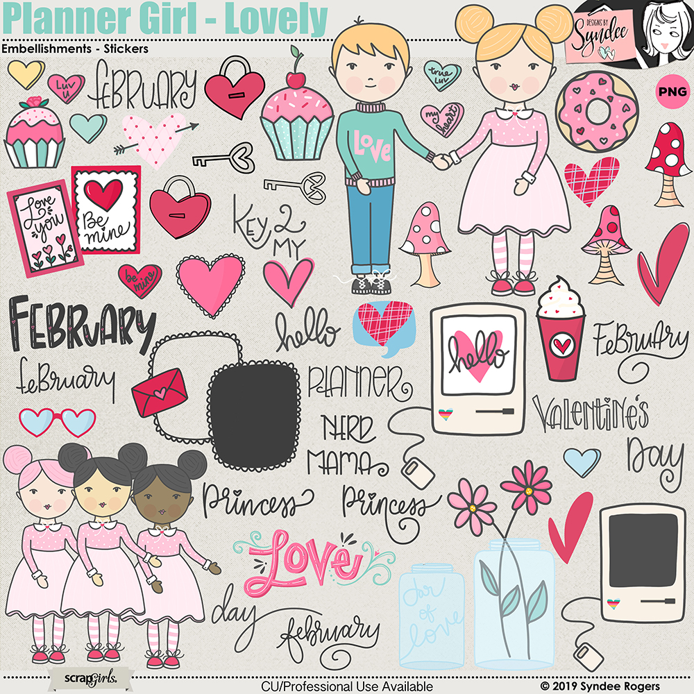 Planner Girl - Lovely Embellishments